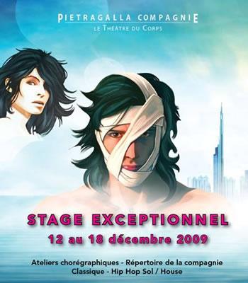 Stages de danse exceptionnels avec Marie-Claude Pietragalla du 12 au 18 décembre au siège de Pietragalla Compagnie