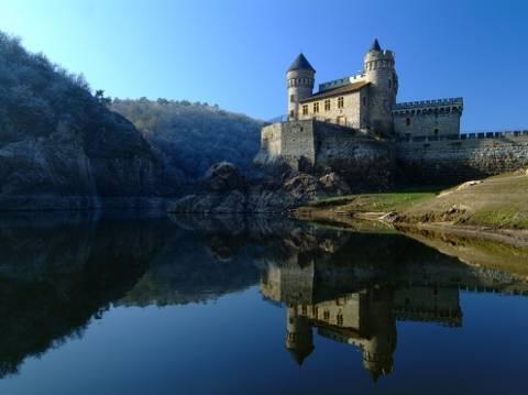 Chateau de La Roche à découvrir dans la Loire