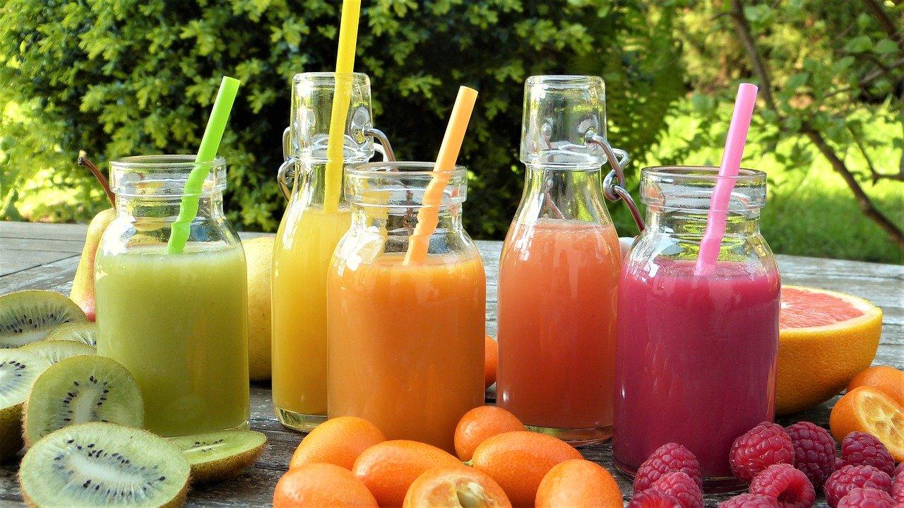 Jus de fruits et smoothies