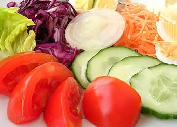 Crudites Tomates Concombres Salades