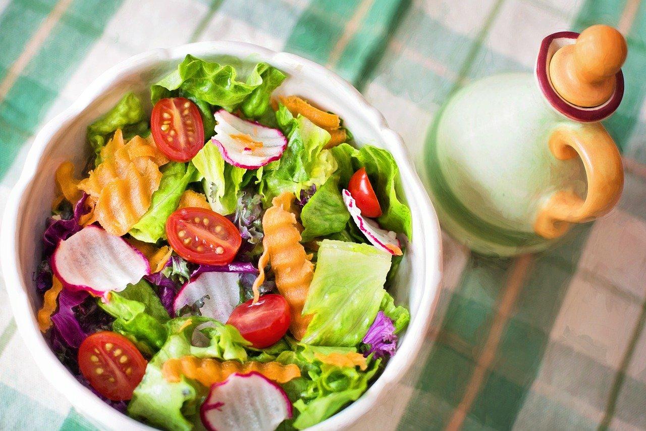 Salade et bonne alimentation