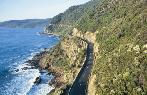 "Australie : ""The Great ocean road"""