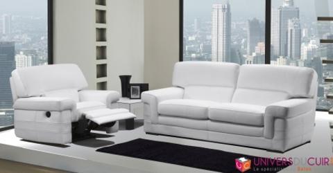 Canapé de relaxation en cuir