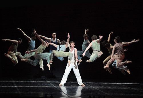 Béjart Ballet Lausanne à Paris en 2012
